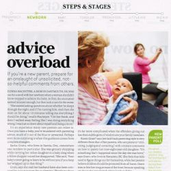Today's Parent, Advice overload