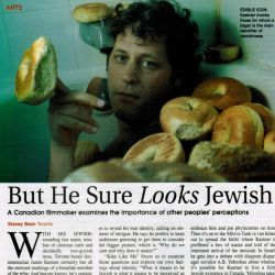 Jerusalem Report, But he sure looks Jewish