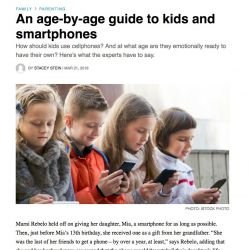 Today's Parent, An age-by-age guide to kids and smartphones
